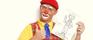 coco de clown kinderfeestje