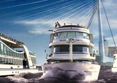 Spido…varen door Rotterdam
